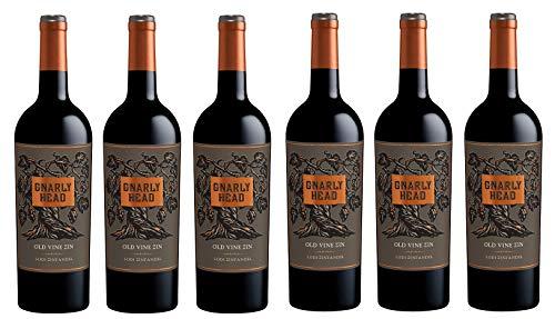 6x 0,75l - 2018er - Gnarly Head - Old Vine Zinfandel - Lodi - Kalifornien - Rotwein trocken