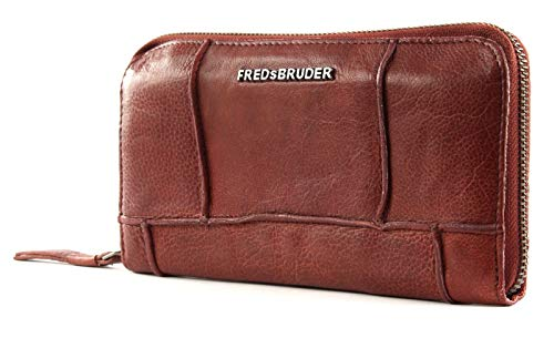 FREDsBRUDER Zippy Wallet Geldbörse in rust fb-123-99-236