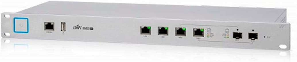 UniFi Security Gateway Pro 4 USG-PRO-4 Enterprise Router with Gigabit Ethernet 2 Combination SFP/RJ-45 Ports