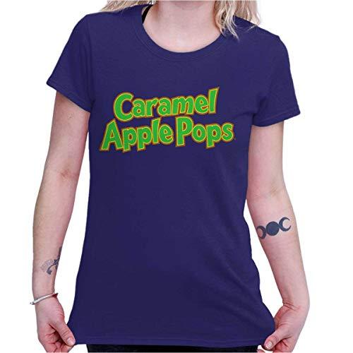 Caramel Apple Pops Lollipop Vintage Candy Ladies T Shirt