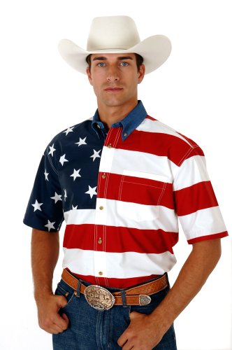 American flag shirt for 4th of July