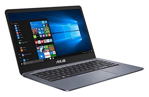 Asus Vivobook E406MA-BV106T PC portable 14' HD gris foncé (Intel Pentium, RAM 4Go, EMMC 128Go, Windows 10 S) Clavier AZERTY Français