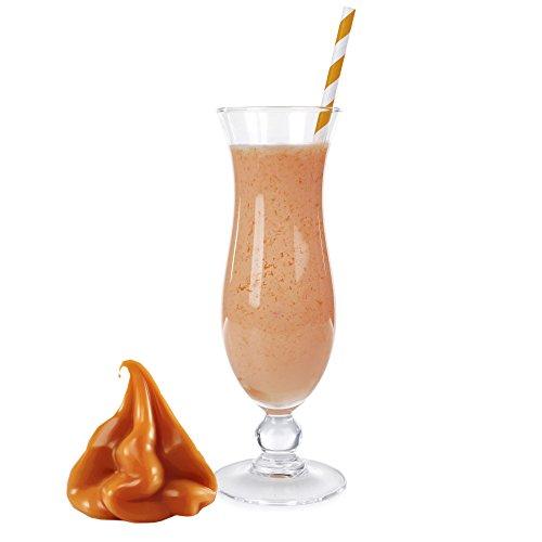 1 Kg Karamell Milch Geschmack Eisgetränkepulver für 9 Liter Smoothi Slush Sorbet Granita Eisgetränke Eis Cocktails
