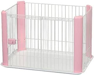 IRIS Ohyama Pet Playpen CLS-960, Small, Pink