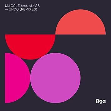Undo (Remixes)