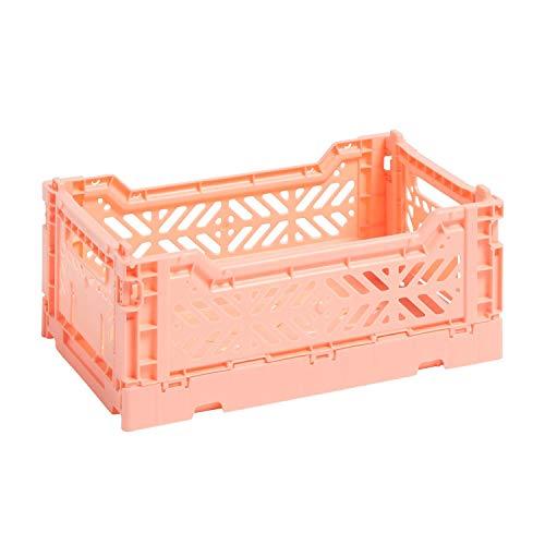 HAY Colour Crate S Transportbox, Kunststoff, lachs, 26,5cm