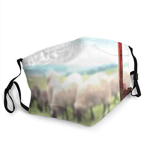 Stillleben alte rostige Schere, die Schafe industriell schert Erwachsener staubdichter winddichter Schal für wiederholten Gebrauch bequem tragen