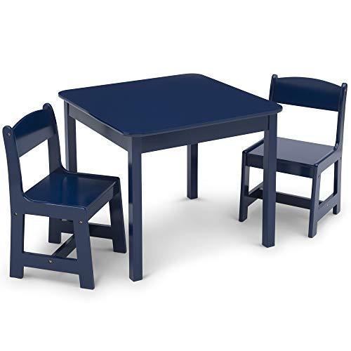 Delta Children Tisch und Stuhl, Marineblau, Large