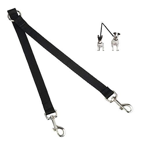Hunde Doppelleine, Hundeleine Doppelleine für Kleine Hunde, 2 WAY Two Haustier Walking Sicherheit Leine