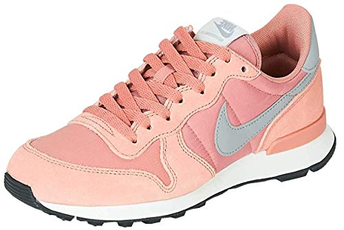 Nike Damen WMNS Internationalist Leichtathletikschuhe, Mehrfarbig (Rose Gold/Wolf Grey/Summit White/Black 615), 36 EU