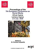 ECSM 2020- Proceedings of the 7th European Conference on Social Media