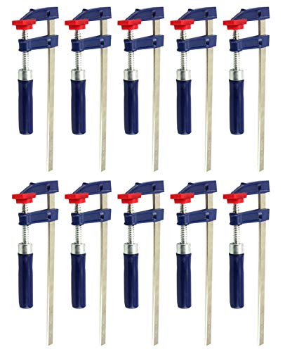 10x Schraubzwingen Set 200x50mm Klemmzwingen Leimzwingen Spannmittel 2149687