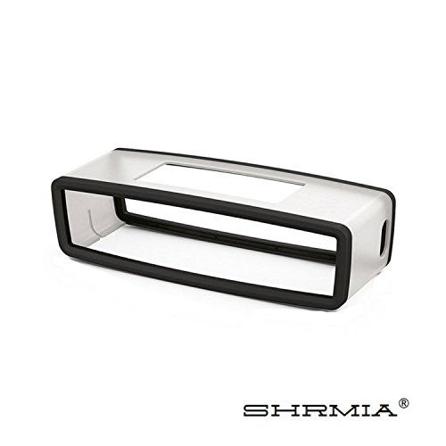 Shrmia TPU Speaker Bluetooth Travel Carry Pouch Soft Case Silicone Gel Rubber.