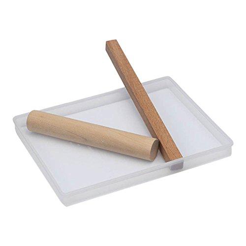 Zreal Nougat-dienblad om te knutselen van hout, deegrol voor het bakken van snoepjes, gereedschap voor het decoreren van taarten