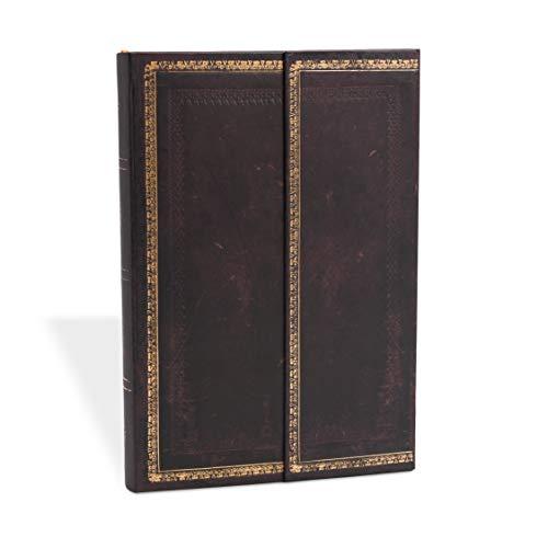 Paperblanks Cuadernos de Tapa Dura Marruecos Negro | Libretas de Direcciones | Mini (100 × 140 mm) (Black Moroccan)