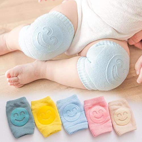 5 Paar rutschfeste Knieschoner für Babys, Geschenke für Babys, Neugeborene, originell.