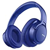 Mpow H7 Bluetooth Headphones Over Ear, Comfortable Wireless Headphones, Rechargeable HiFi Stereo Headset, w/Wired Mode, CVC6.0 Microphone for Cellphone Online Class, Home Office, PC