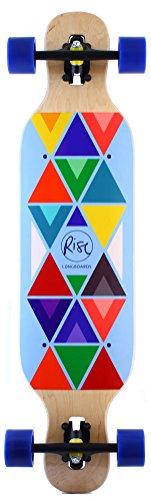 RISE Indie Blue Longboard Komplett