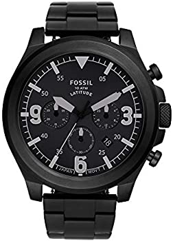 Fossil Latitude Chronograph Stainless Steel Men's Watch