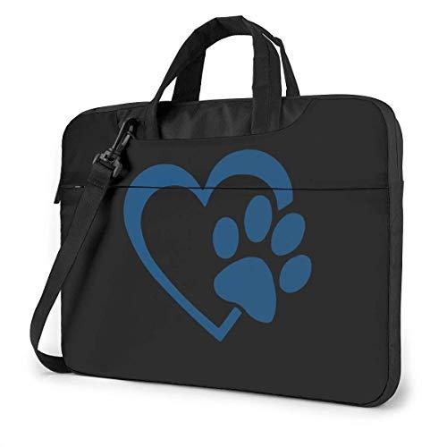 Love Paw Heart Bolso Messenger para portátil, Estuche portátil para HP Ultrabook Chromebook