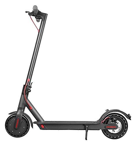 JSZHBC Ajustables Adultos Scooter eléctrico Plegable E-Scooter con Pantalla LCD 3 Modos for la Velocidad del Viajero Safe Riding and Enjoy Fun