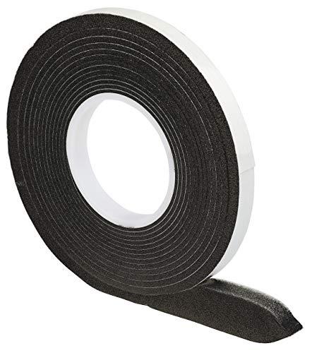 Komprimierband 10/3 │ anthrazit │ 1 Stück │ 10 m lang │ Rollenbreite: 10 mm, Fugenbreite: 3-7 mm │ Fugendichtband │ Quellband