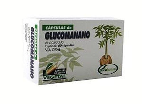 Glucomanano 60 cápsulas de Soria Natural