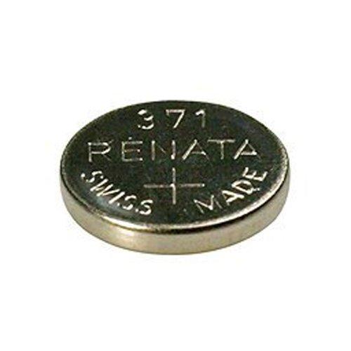 Renata 371 SR920SW: Pila 1.55V de óxido de Plata para Relojes