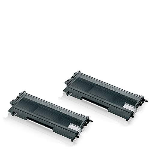 2X Print-Klex Alternative Tonerkartuschen kompatibel für Brother Fax2920 Fax2920ML Fax2920P Fax2920Series TN 2000 TN2000 Black XXL Doppelpack - Color Edition Serie