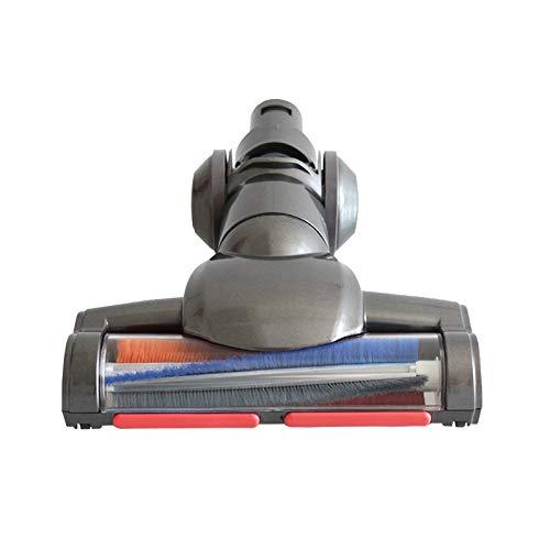 Piezas de repuesto de la aspiradora 1 UNID Cepillo de piso motorizado eléctrico FIT PARA DYSON V6 TRABAJA DE CAFILA DE VACÍA CAFILIZACIONES DE PIEZA DE REEMPLAZO Cabezal de polvo Accesorios de aspirad