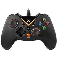 KROM Key - Gamepad, inalámbrico Color Negro