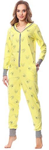 Merry Style Pijama 1 Pieza con Capucha Ropa de Cama Mujer MSLL1005