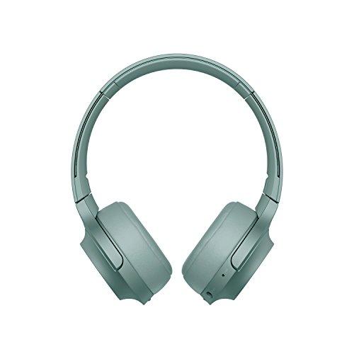 Sony WH-H800 Kabelloser High-Resolution Kopfhörer (Bluetooth, Headset-Funktion, bis zu 24 Stunden Akkulaufzeit, faltbar) Grün