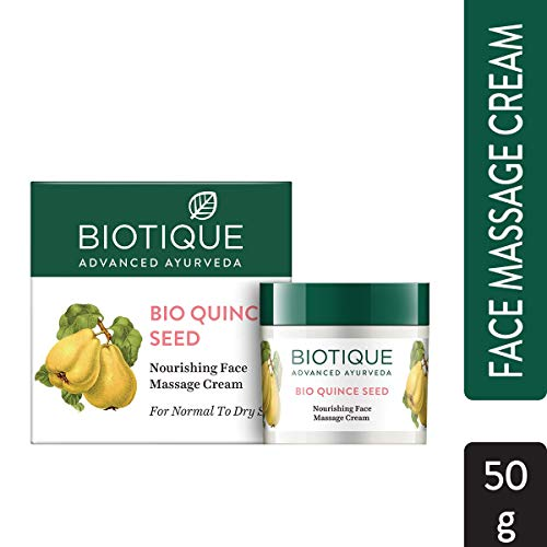 Biotique Quince Seed Nourishing Face Massage Cream for Normal to Dry Skin