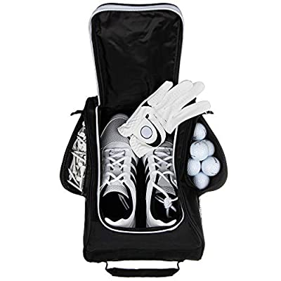Stripe Golf Shoe Bag