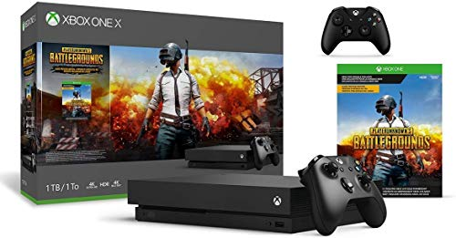 Microsoft Xbox One X 1TB PLAYERUNKNOWN'S BATTLEGROUNDS Bundle + Xbox One Wireless Controller - Black | Include:Xbox One X 1TB Console ,PLAYERUNKNOWN'S BATTLEGROU Full-Game, Xbox One WirelessController