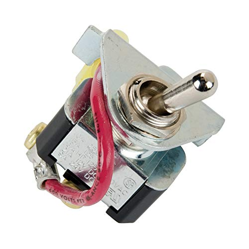 GPI Replacement Switch Assembly for M-150S Fuel Transfer Pumps, Switch, Breaker, Bracket (GPI Genuine Accessory 110277-505)