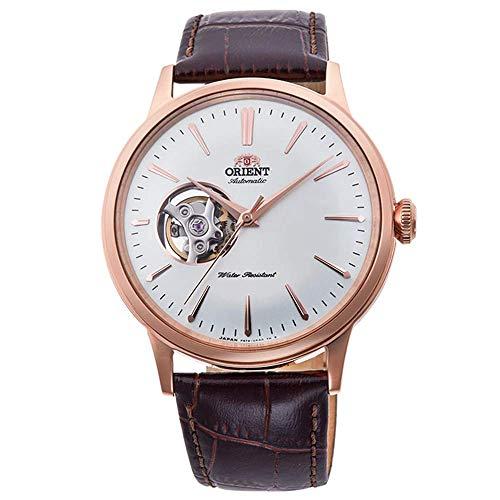Orient Reloj Analógico para Hombre de Automático con Correa en Cuero RA-AG0001S10B