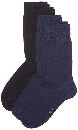 s.Oliver Socks Herren s20028 Socken, Blau (Navy 04), (Herstellergröße: 43/46) (4er Pack)