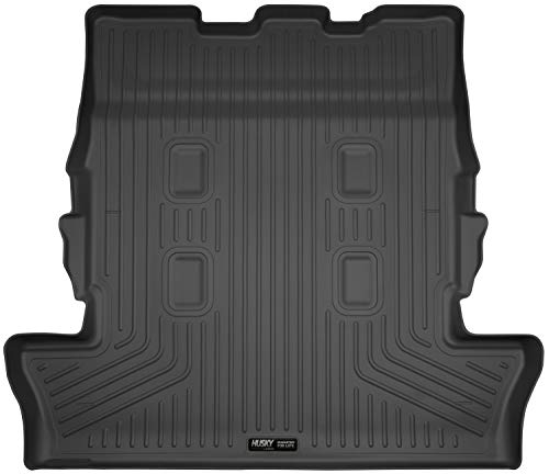 Husky Liners Fits 2013-19 Lexus LX570, 2013-19 Toyota Land Cruiser - with 3rd row seats Cargo Liner