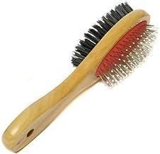 Tech Traders® Cepillo de doble cara para mascotas, perros y gatos, cepillo de pelo, ordenado grande