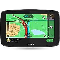 TomTom GO Essential, GPS para coche, 6 pulgadas, llamadas manos libres, Siri y Google Now, actualizaciones viaWi-Fi, traffic para toda la vida mediante smartphone y mapas UE, mensajes de smartphone