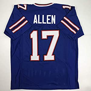Unsigned Josh Allen Buffalo Blue Custom Stitched Football Jersey Size Men's XL New No Brands/Logos