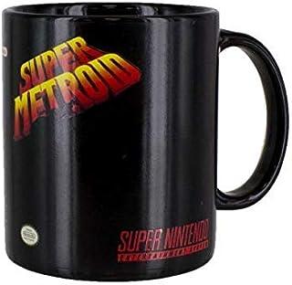 Nintendo Super Metroid Heat Change Mug, Ceramic, Multi-Colour | Heat Sensitive Colour Changing Coffee & Tea Cup | Sensitiv...