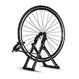 Soporte Suelo para Bicicletas, Soporte de Alineación de Rueda de Bicicleta para Bicicleta, Soporte Plegable para Mantenimiento de Bicicletas Portátil, para Ruedas de 16 a 29 pulgadas