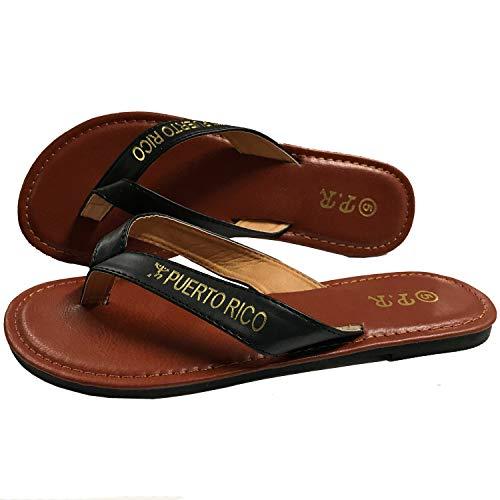 Puerto Rico Sandals Black PR (12)