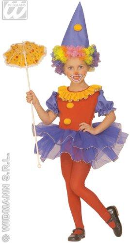 Widmann ? Costume de Clown de Cirque pour fille taille 4 ? 5 ans (55436 a)