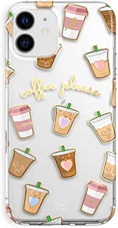 Velvet Caviar Compatible with iPhone 11 Case Coffee Design for Girls Women Clear Cute Protective product image