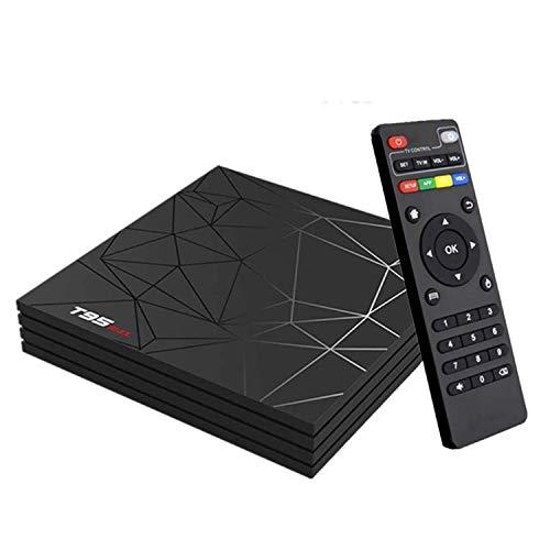 Android 9.0 TV Box, Smart Box Lettore Multimediale Box 2GB RAM 16GB ROM H6 Quad-Core Cortex-A53 2.4GHz WiFi Supporto 3D 6K H.265 10/100M Ethernet HDMI con Remote Control Video Player