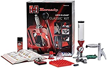 Hornady 85003 Lock N Load Classic Reloading Press Kit, Red